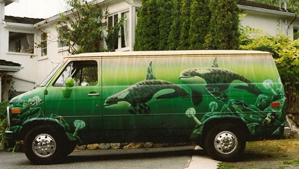 Jeff-King-Art-Work-on-my-Van