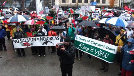 Salmon-Are-Sacred-Vancouver-rally
